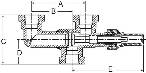 3-way dual shut-off valves