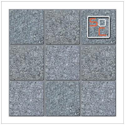หินโม่ลบเหลี่ยม Quartz Gray ควอทเกย์