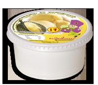 ไอศกรีม, coconut ice cream ถ้วยน้ำตาล 130/150 กรัม