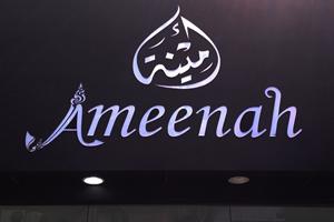 ผลงานป้าย Ameenah
