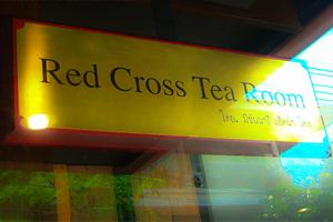 ผลงานป้าย Red Cross Tea Room