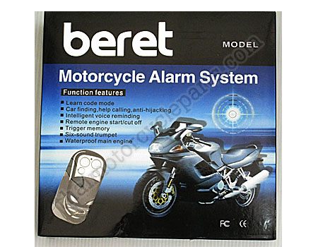 motorcycle alarm, system - thai motorcycle parts and accessories