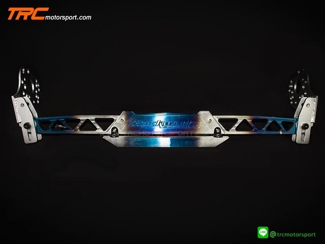 ชุดคํ้าปีกนกหลัง BW Racing สีไดร์ไทเทเนี่ยม อลูมิเนียมนํ้าหนักเบา (ใส่ได้กับรถ Honda และแปลงใส่รุ่นอื่นๆได้)