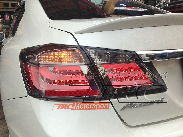 ไฟท้าย ACCORD 2013 SMOKE KS V1 Light Bar USA Design งาน EAGLE EYE