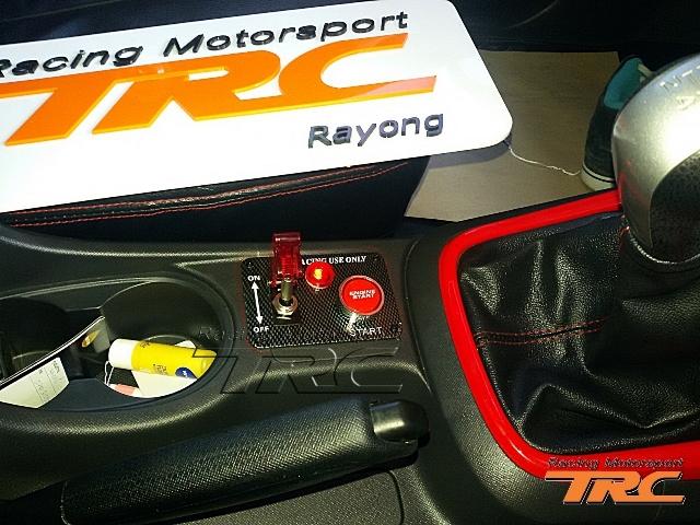 สวิทช์สตาร์ทชุด D-MAX 2013 Style F1 RACING แบบมี 2 สวิทช์