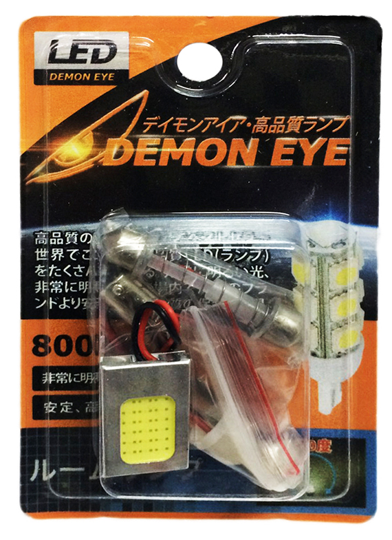 หลอดไฟ LED #D200-COB 26X16 DEMON EYE COB DOME LAMP ขนาด26x16mm 6500K WHITE