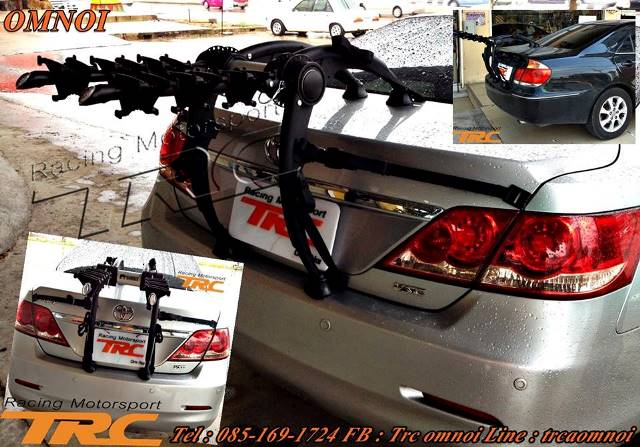 U แร็คแขวนจักรยาน ด้านหลังรถ ยี่ห้อ BNB RACK รุ่น AERORACK (3 BIKE)