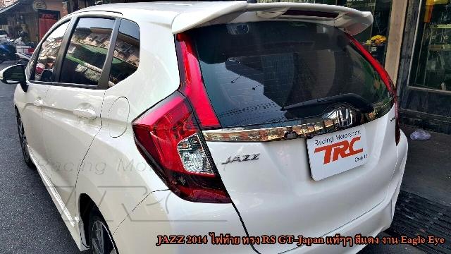 ไฟท้าย JAZZ 2014 ทรง RS GT-Japan สีแดง