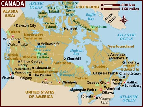 ทั่วไปของประเทศแคนาดา